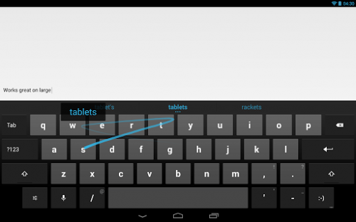Google rolls its own keyboard app for Android 4.0 and up