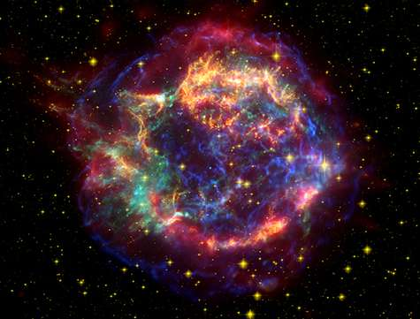 Grains of sand from ancient supernova found in meteorites