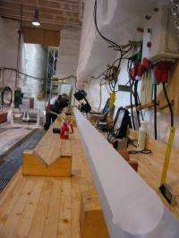 Greenland ice cores reveal warm climate of the past