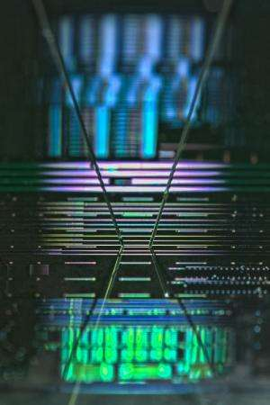 World record in silicon integrated nanophotonics: More energy efficiency in the data communication