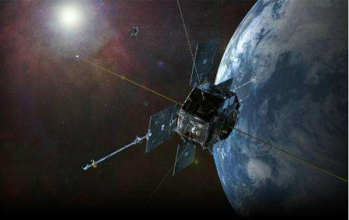 How did a third radiation belt appear in the Earth's upper atmosphere?