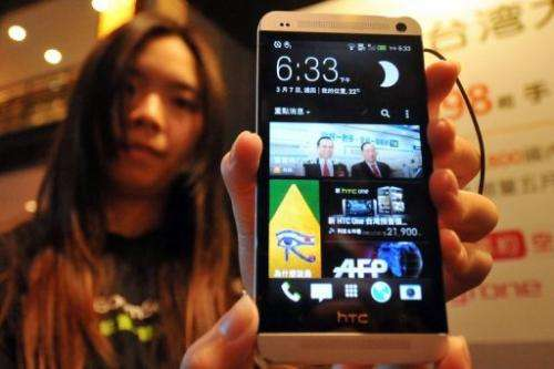 Taiwan's HTC postpones flagship smartphone rollout