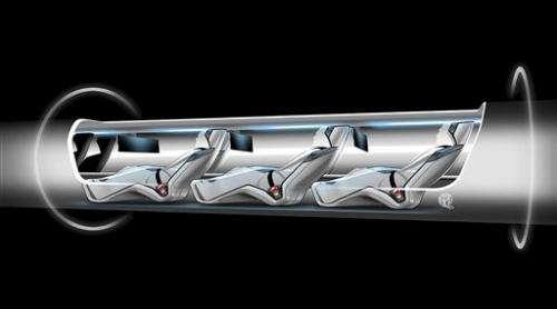 'Hyperloop' travel idea gains fans, if not backers