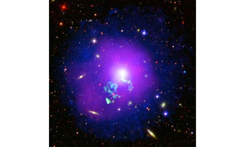 Image: Hot gas sloshing in a galactic cauldron