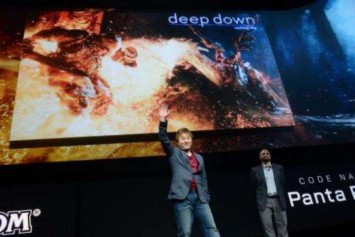 Japanese Capcom videogame producer Yoshinori Ono attends the PlayStation 4 news conference February 20, 2013 in New York