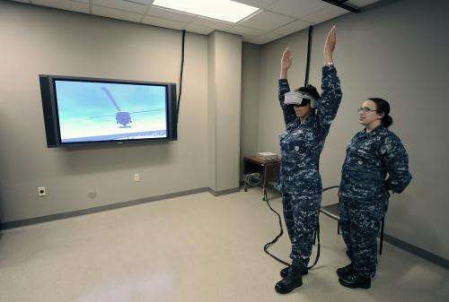 Keeping it real: Virtual trainer upgrades boost shipboard flight ops