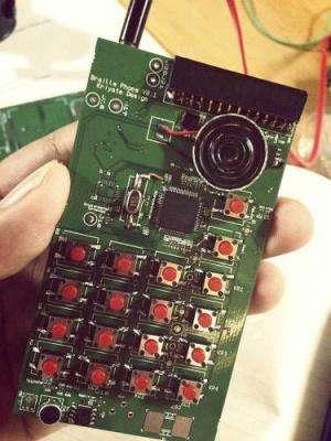 Kriyate Design Solutions testing first Braille smartphone