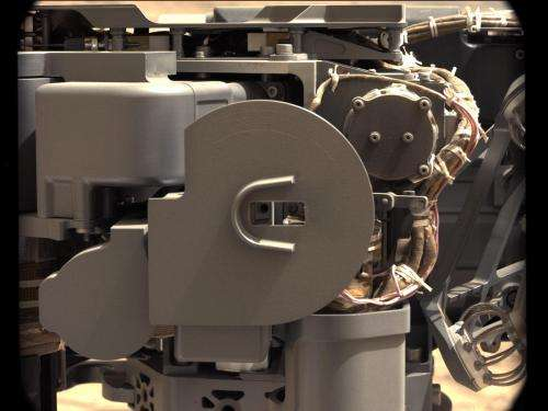 Lab Instruments Inside Curiosity Eat Mars Rock Powder