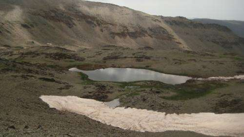 Lake found in Sierra Nevada with the oldest remains of atmospheric contamination in southern Europe