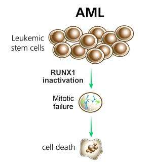 Leukemia cells are addicted to a healthy gene