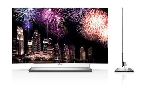 LG beats rivals in race to sell new OLED TVs (Update)