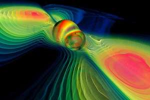 'Listening' to black holes form with gravity waves