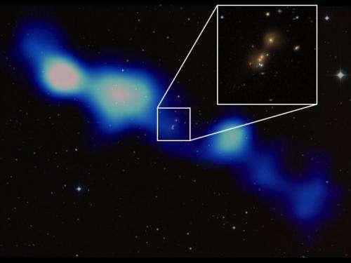 LOFAR discovers new giant galaxy in all-sky survey