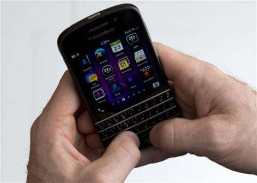 Long-awaited keyboard BlackBerrys hit US stores