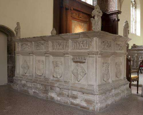 Lost Tudor sculptures reassembled with help from 3-D scanning