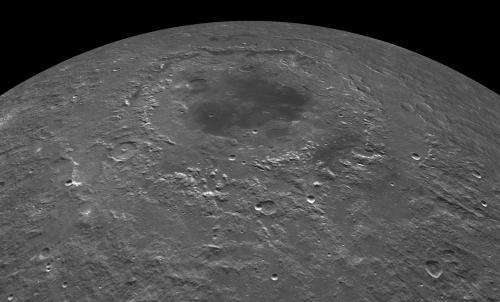 Lunar impacts created seas of molten rock, research shows