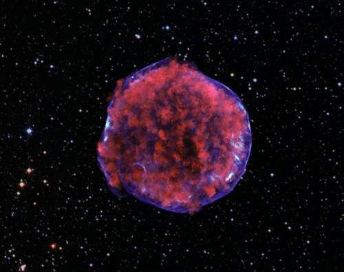 Mach 1000 shock wave lights supernova remnant