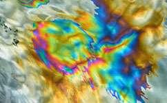 Magnetic rocks aid oil exploration