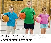 Many kids missing out on healthy lifestyle