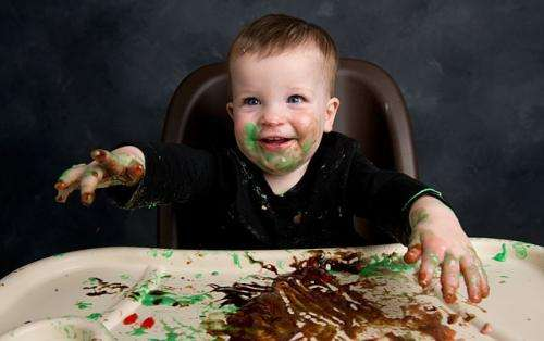 Messy children make better learners