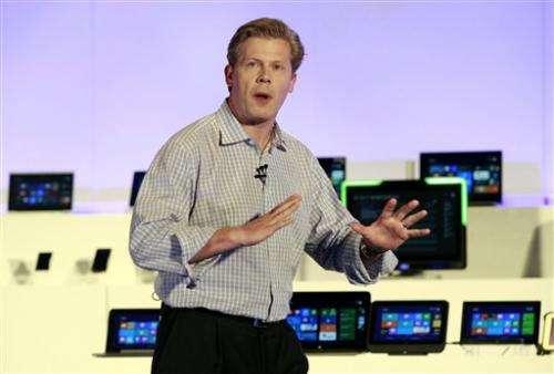 Microsoft showcases operating system update