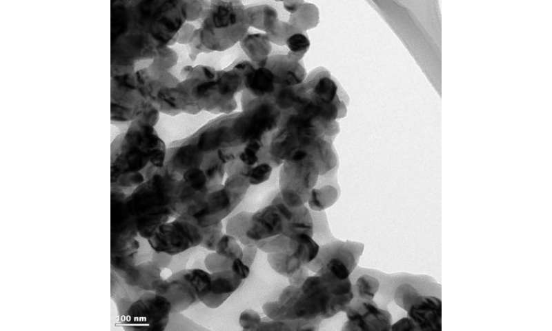 Nanogrid, activated by sunlight, breaks down pollutants in water, leaving biodegradable compounds