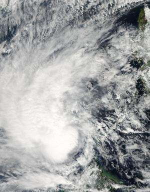 NASA catches Tropical Storm Sonamu in South China Sea