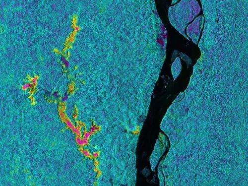 NASA flies radar south on wide-ranging expedition