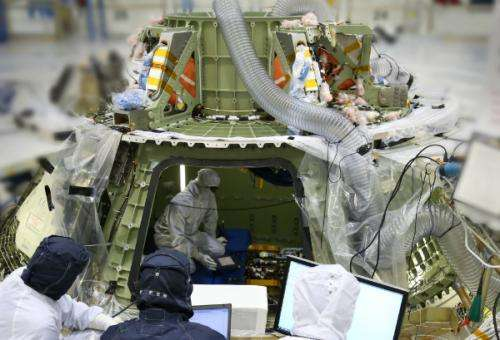NASA's Orion spacecraft comes to life