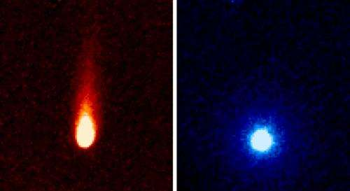 NASA's Spitzer observes gas emission from comet ISON