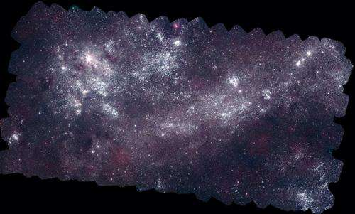NASA's Swift produces best ultraviolet maps of the nearest galaxies
