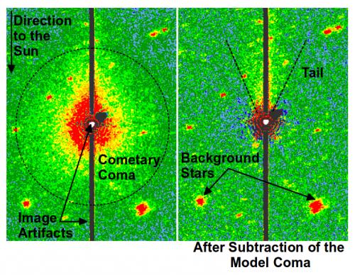 NAU-led team discovers comet hiding in plain sight