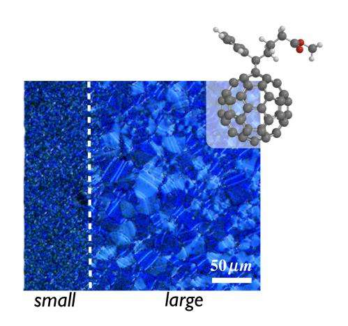 New additive offers near-perfect results as nucleating agent for organic semiconductors
