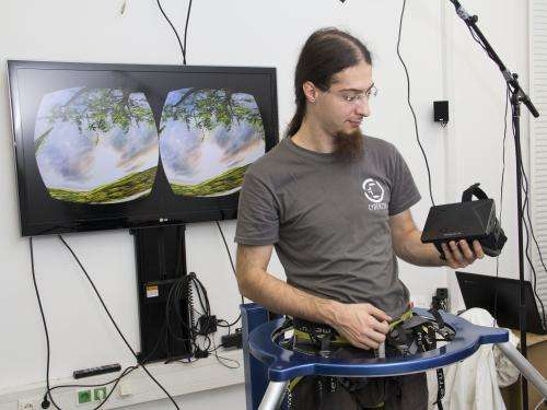 New device to revolutionize gaming in virtual realities
