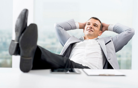 New study: Does putting your feet up = power?
