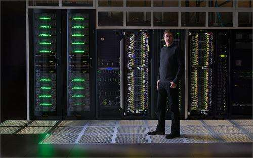 New ultra-efficient HPC data center debuts