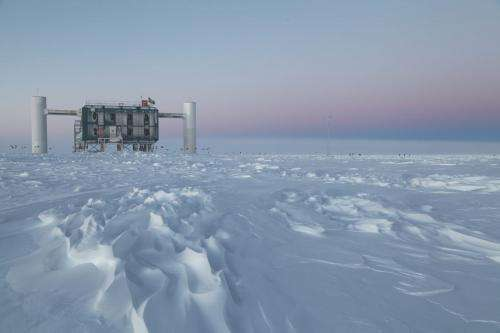 World's largest particle detector IceCube detects first high-energy neutrinos from the cosmos