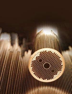 Novel hollow-core optical fiber to enable high-power military sensors