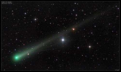 NRL-Developed Telescopes Await the Approaching Comet ISON