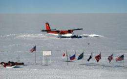 NSF cooperating with Italy, New Zealand in search for downed plane in Antarctica
