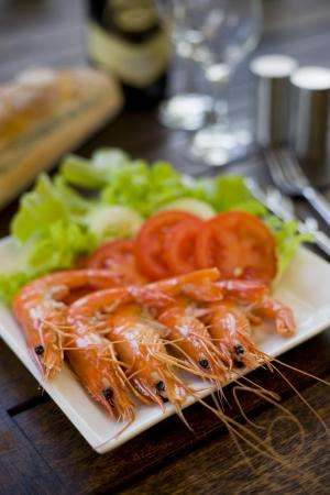 'Perfect' food for 'perfect' prawns