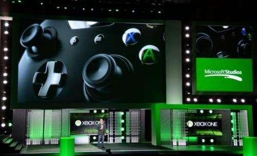 Phil Spencer, VP of Microsoft Game Studios, speaks at the Microsoft Xbox E3 press conference on June 10, 2013