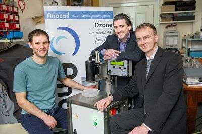 Project taps plasma power to protect products and people