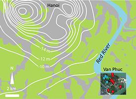 Pumping draws arsenic toward a big-city aquifer