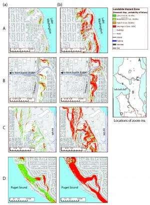 Quake-triggered landslides pose significant hazard for Seattle, new study details potential damage