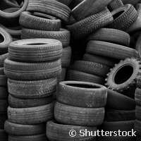 Recycling Europe's three million tonnes of tyre waste