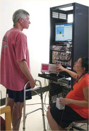 Reflex control could improve walking after incomplete spinal injuries