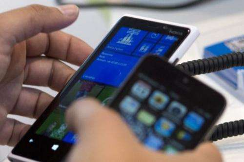 Smartphone sales exploded in 2012, surveys show
