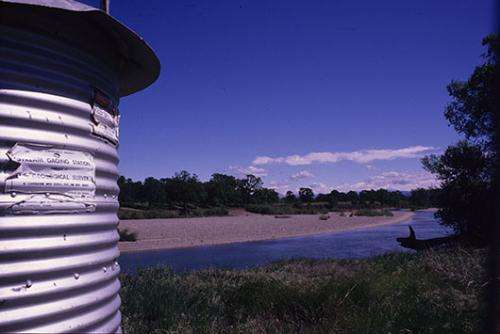 River beds on the move: Shifting floodrisk?