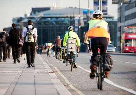 Road safety in megacities: Bikers, pedestrians beware